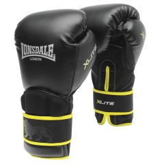 Lonsdale X-lite Training Glove Black/acid  - MMA training gloves