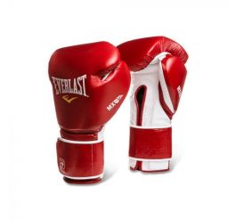 Everlast Mx Training Glove Hook Loop Red/white