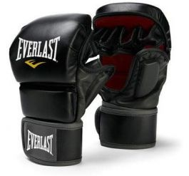 Everlast Leather Thai Striking Gloves