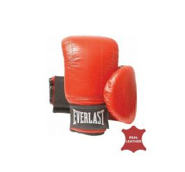 Everlast Leather Pro Bag Gloves Boston