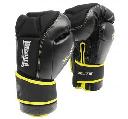 Lonsdale X-lite Bag Glove Black/acid Green