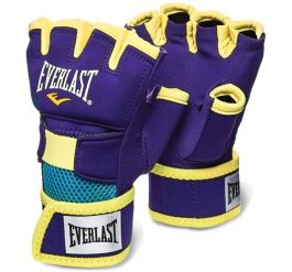 Everlast Evergel Handwraps Purple/yellow