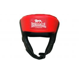 Lonsdale Jab Open Face Headguard - Synthetic Leather
