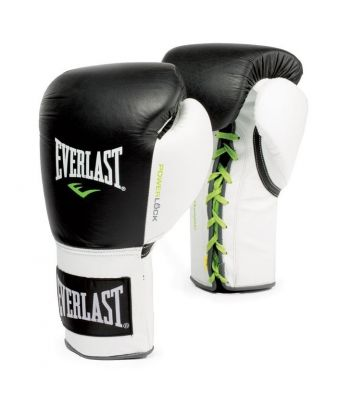 Everlast Powerlock Fight Guanti con lacci