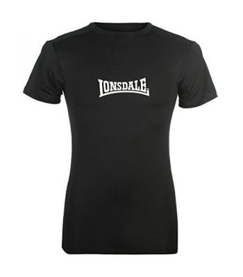 Lonsdale M-core Rash Guard Short Sleeve