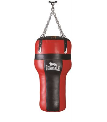 Lonsdale L-core Heavy Leather Angle Bag 32kg