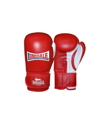 Lonsdale Pro Safe Spar Training Glove - Hook & Loop Split Thumb Design
