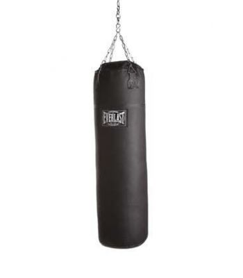 Everlast Leather Heavy Bag Filled 100LB