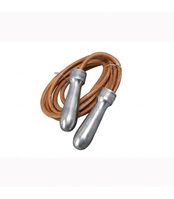 Lonsdale Leather Ropes With Metal Handle 274cm