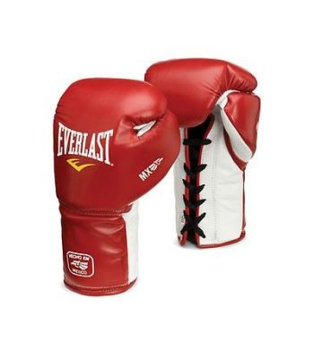 Everlast Mx Training Gloves Red/white