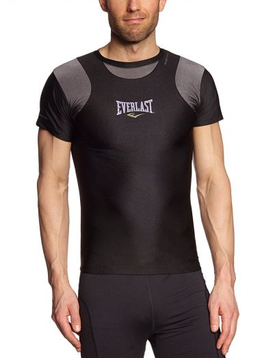 Everlast Mens Short Sleeve Rash Guard