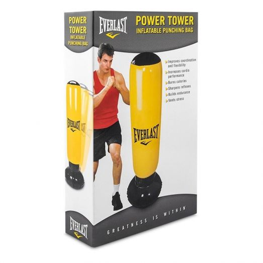 EVERLAST Power Tower Inflatable Punch Bag Boxing Bag Punching Bag