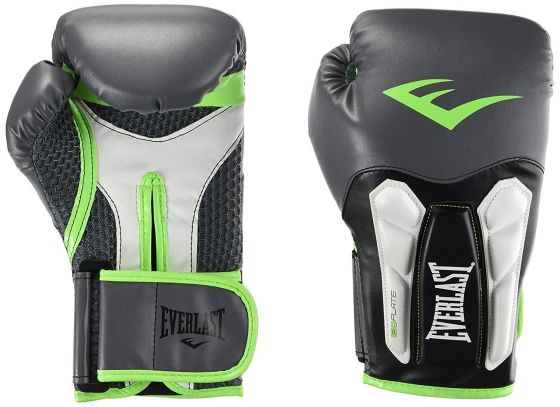 Everlast Mens Prime Training Glove Grey